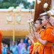 Monjes-en-Chiang-Mai