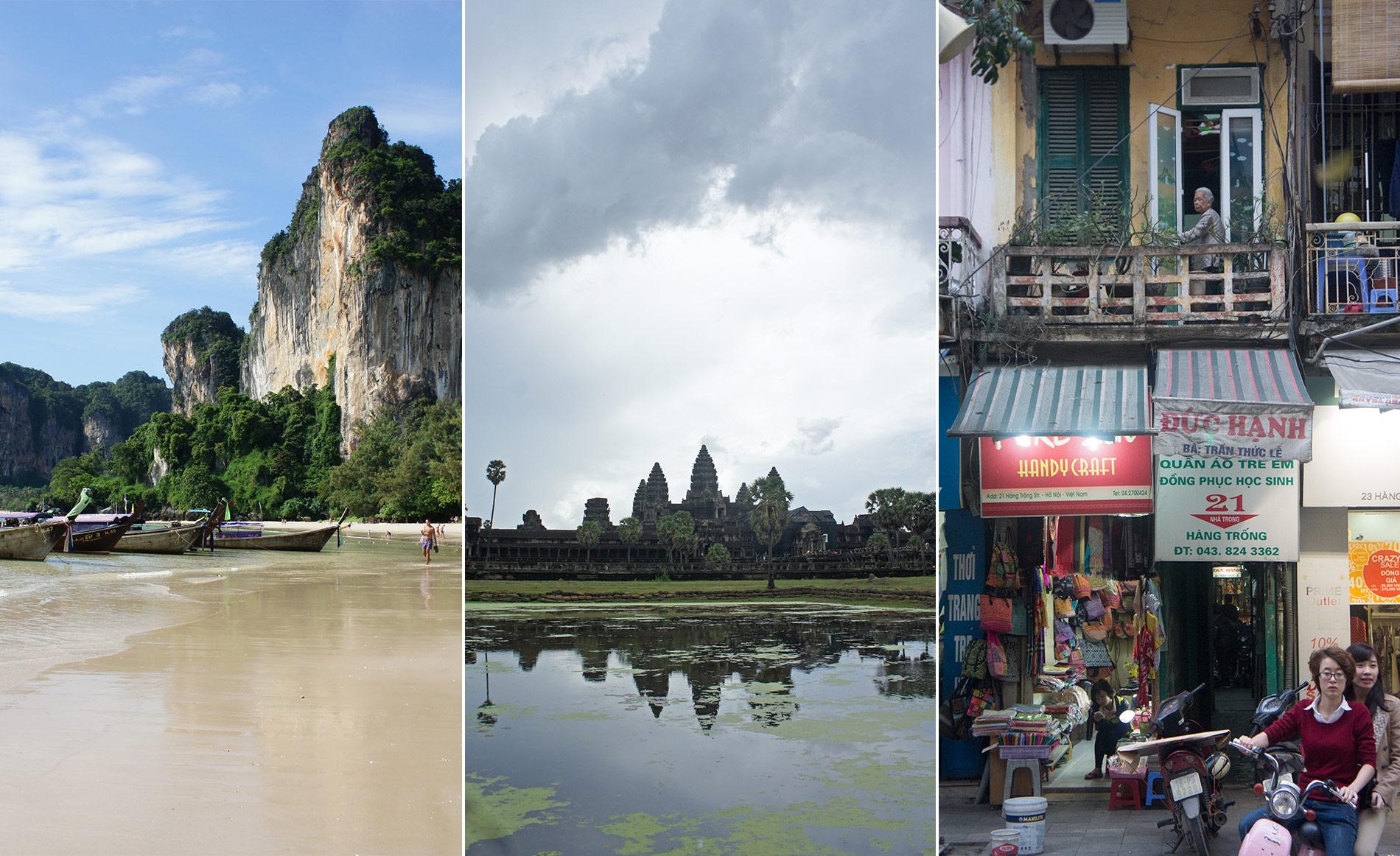 Viaje por Tailandia, Camboya y Vietnam