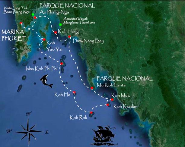 Ruta-por-las-mejores-islas-de-Tailandia-en-Catamarán